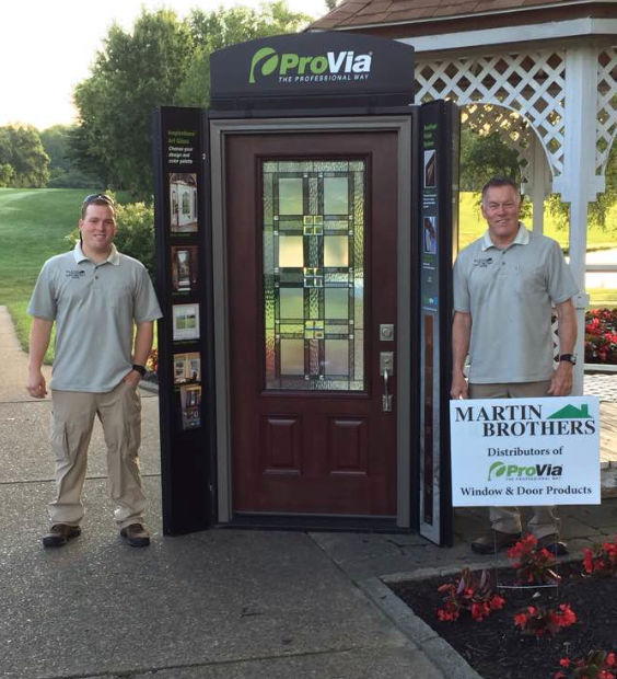 We had a great time at the SIBA golf outing at Rolling Hills! Martin Brothers is proud to be the area's trusted ProVia door distributor.